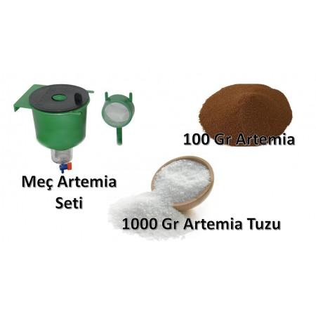 Artemia Yumurtası Çıkarma Seti 100
